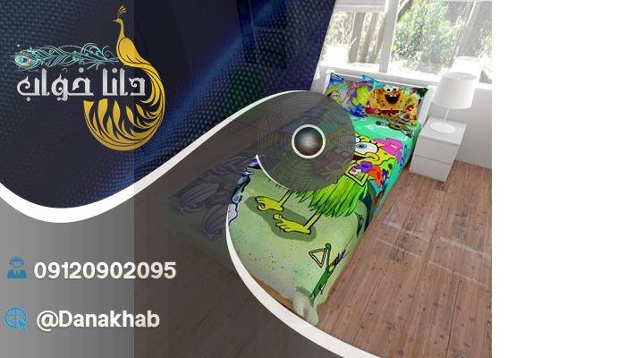 انواع مدل روتختی سه بعدی برای اتاق خواب